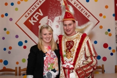 2018 Prinz Christian II., der Schnitzelproduzent im Gardehemd