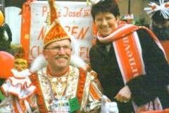 2001 Josef IV., der Narrenchef vom Heimattreff